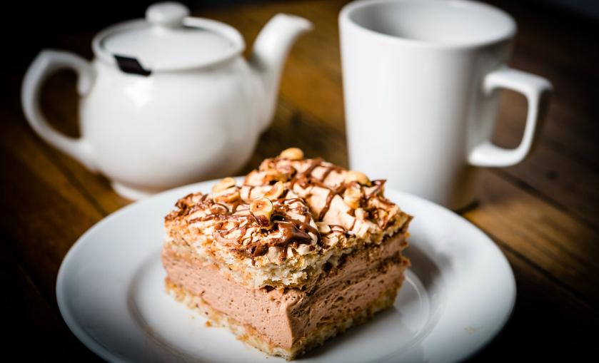 Vegan Coffee And Walnut Cake Boston Tea Party