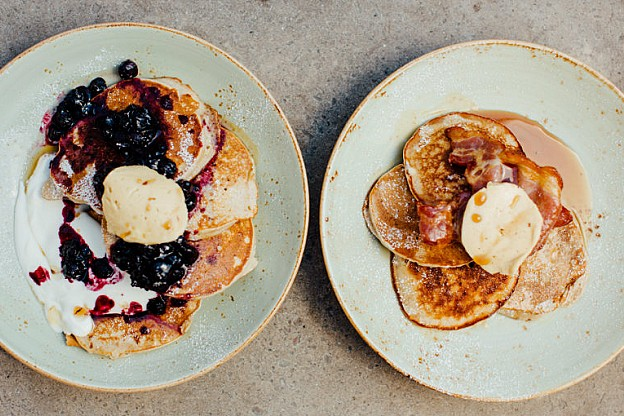 Our flippin' good new pancakes