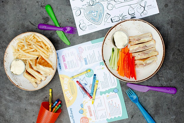 New: Kids Menu