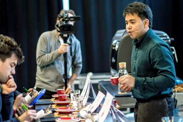 Britain's best baristas do battle