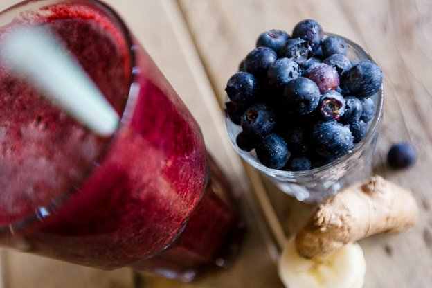 Recipe: Make our Super Blueberry and Ginger smoothie at home