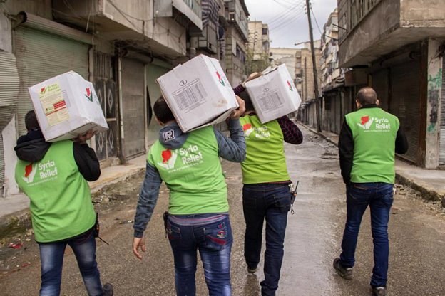 Help Syria Relief - BTP donation collection points