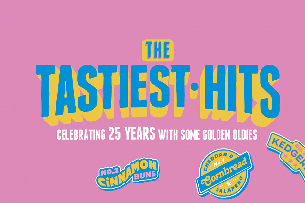 Turning 25 - Time for the Tastiest Hits